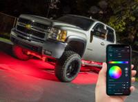 Smartphone Million Color Truck Underglow Light Kit - Bluetooth Connection