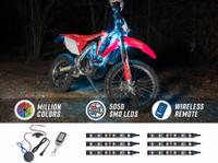 Advanced Million Color Mini SMD LED Dirt Bike Lighting Kit