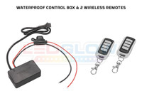 Waterproof Control Box & Wireless Remotes