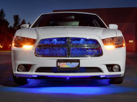 """24"""" Blue SMD LED Grille Light Add-On Tube for Wireless Underbody Kits"""
