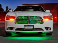"""24"""" Green SMD LED Grille Light Add-On Tube for Wireless Underbody Kits"""