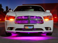 """24"""" Pink SMD LED Grille Light Add-On Tube for Wireless Underbody Kits"""
