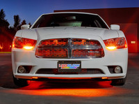 """24"""" Orange SMD LED Grille Light Add-On Tube for Wireless Underbody Kits"""