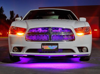 "24"" Purple SMD LED Grille Light Add-On Tube for Wireless Underbody Kits"