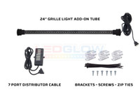 """24"""" Million Color SMD LED Grille Light Add-On Tube for Wireless Underbody Kits"""