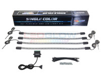 Add-On Single Color LED Wheel Well Light Kit Unboxed