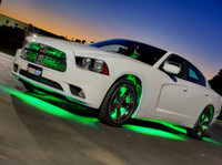Green Add-On Wheel Well Lights