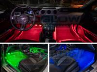 Red, Green, Blue Interior LED Lights