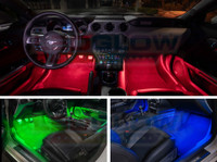Red, Green, Blue Interior LED Lights