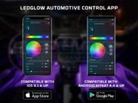 LEDGlow Automotive Control App Compatible with iOS & Android Smartphones