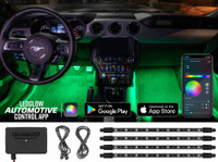 Million Color SMD LED Interior Lighting Kit with Smartphone Control