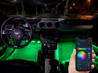 4pc Million Color SMD LED Interior Light Kit with Smartphone Control Thumbnail