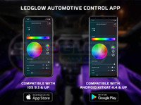 LEDGlow Automotive Control App Available for iOS & Android Smartphone Devices