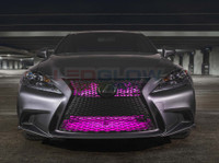 "24"" Pink SMD LED Add-On Grille Light Installed"
