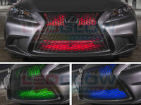 "24"" Million Color LED Add-On Grille Light Installed"