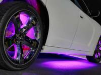 Purple Add-On Wheel Well Lights
