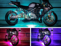 LEDGlow Advanced Million Color Motorcycle LED Lighting Kit