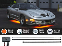 Orange SMD LED Slimline Underbody Lighting Kit