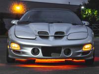 Orange Slimline LED Underbody