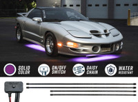 Purple SMD LED Slimline Underbody Lighting Kit