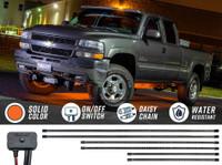 Orange SMD LED Slimline Truck Underbody Lighting Kit