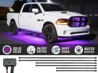 Purple SMD LED Slimline Truck Underbody Lighting Kit