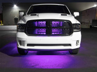 LEDGlow Purple SMD LED Slimline Underbody Kit for Trucks