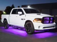 LEDGlow 6pc Purple Truck Slimline Underglow Light Kit