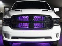 "24"" Purple SMD LED Add-On Grille Light Installed"