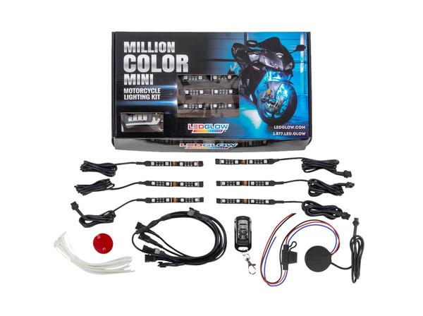 Advanced Million Color SMD LED Mini Motorcycle Lighting Kit Unboxed