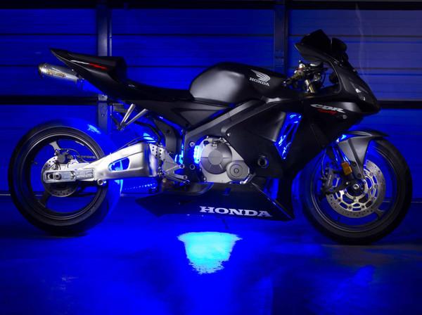 Advanced Blue Mini Motorcycle Lighting