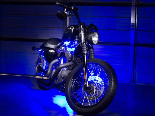 Advanced Blue Mini SMD Motorcycle Lights