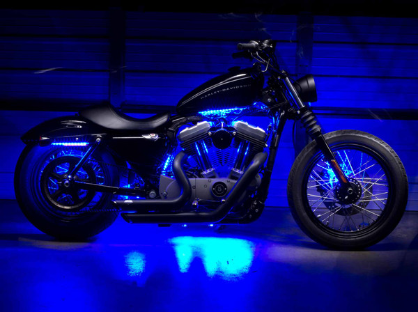 Advanced Blue SMD Motorcycle Lights