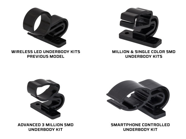 Replacement Underbody Tube Mounting Brackets