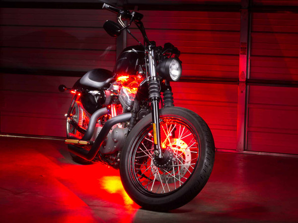 Advanced Red Motorcycle LED Lights