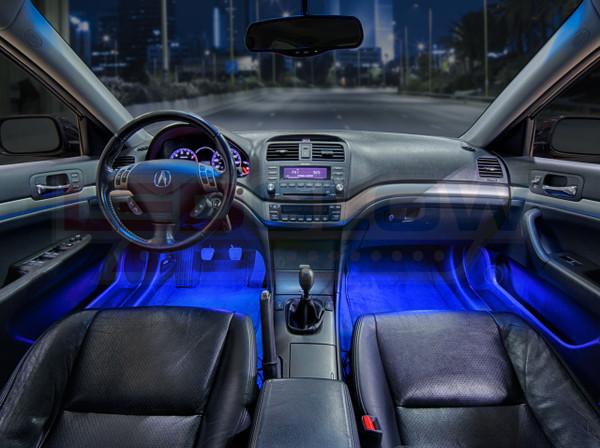 Blue Expandable LED Interior Lighting Kit