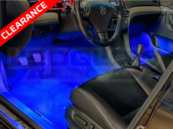 Expandable Blue Interior Lights