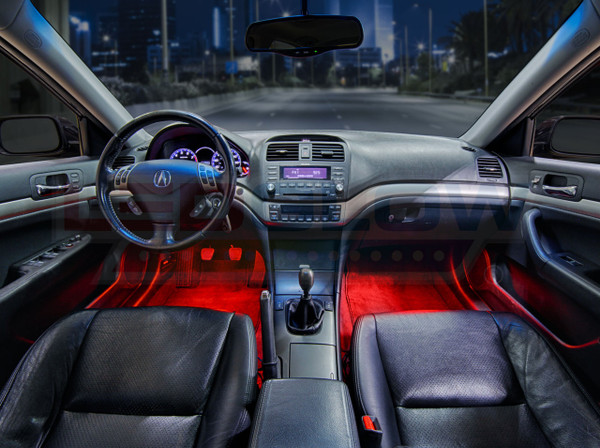Red Expandable LED Interior Lighting Kit