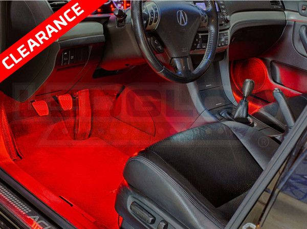 Expandable Red Interior Lights