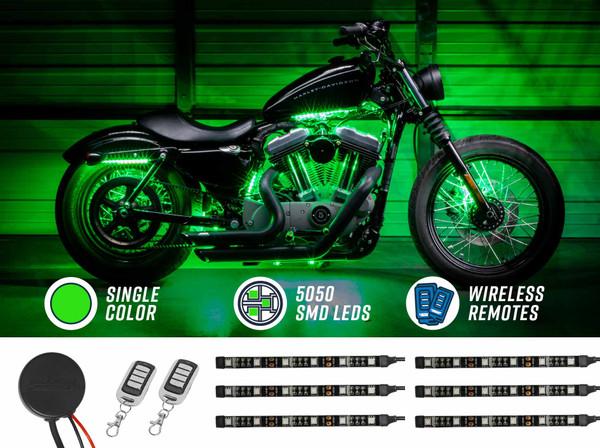 Advanced Green SMD LED Motorcycle Light Kit
