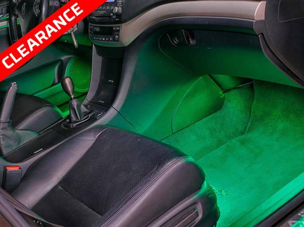 Green SMD LED Interior Lights