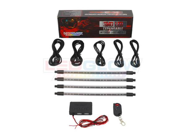 Orange Expandable LED Interior Lighting Kit Unboxed
