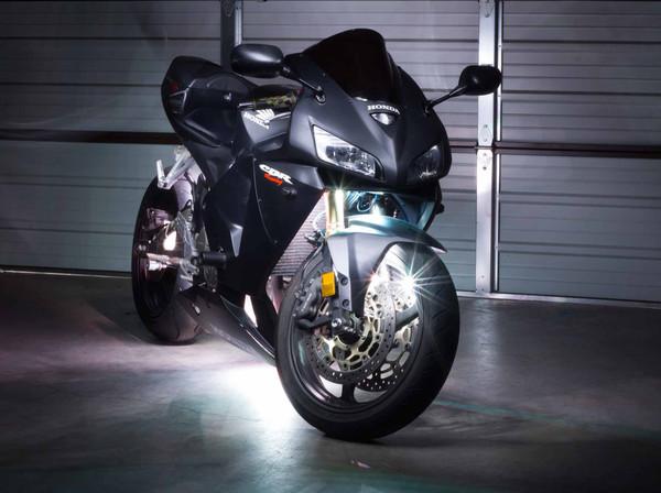 Advanced White LED Motorcycle Lighting