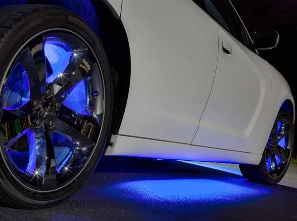 Blue Wireless Underbody LED Lights