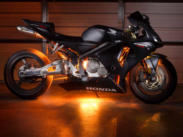 Advanced Orange Motorcycle LED Lights