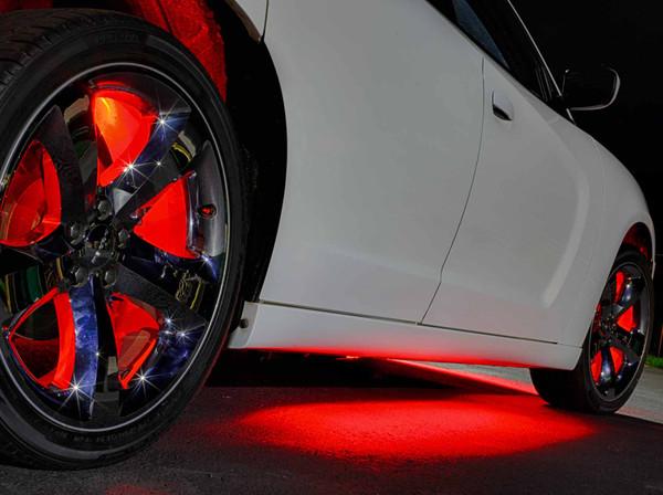 Red Wireless SMD Underbody Lights