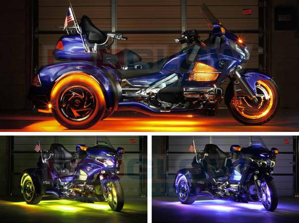LiteTrike III Advanced Million Color Wheel Well Lighting