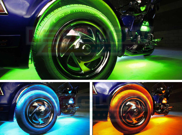 LiteTrike III Advanced Million Color Wheel Well Lights