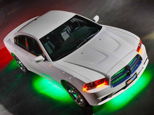 Green Wireless SMD LED Underbody Lighting Kit