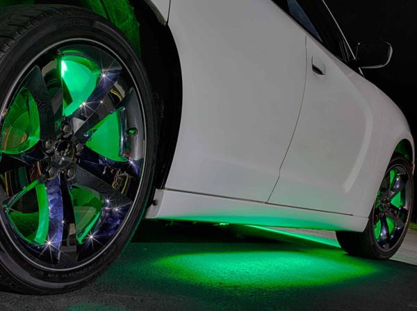 Green Wireless LED Underbody